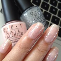 """Look at these sweet and innocent """"ballerina"""" nails!"""
