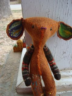so cute! made from recycled sweaters