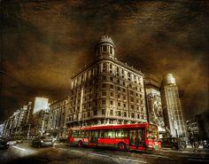 Red Bus Madrid