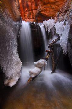 Upper Kanarra Creek Falls, Zion National Park