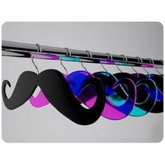 mustache hangers :D This is the best thing ever!!!!!!!!!!