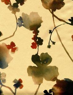 artists, luli sanchez, floral prints, fabric patterns, colors, textil, lulisanchez, flower patterns, watercolor floral