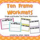 This download includes 4 ten frame workmats.  I have included both single and double ten frames and there two color choices for each version.  Simp...