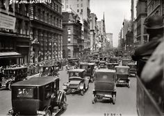 Easter 1913, New York. Fifth Avenue