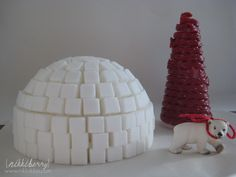 sugar cube igloo