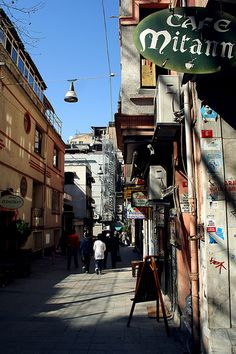 Side street off Istiklal Caddesi, Istanbul
