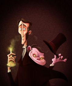 Dr Jekyll & Mr Hyde by Rafikisland.