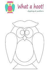 Nice Owl Template.