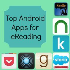 Top Android Apps for eReading- We really need this for the kids school books on the road!
