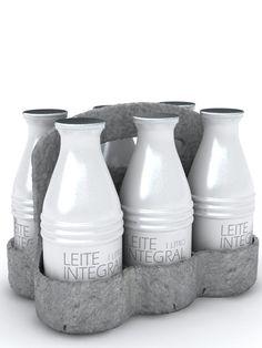 aluminum milk pack | Baita Design