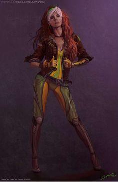 Rogue has always been my Favorite!!