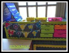Classroom Setup, Tour and Organization 2014
