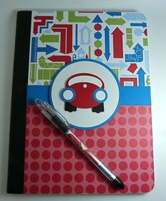 Cute journal idea for a road trip.  Kids can draw what they see, or write stories.
