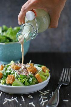 Healthy, Homemade Caesar Dressing