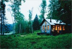 Cabin in the woods...yes please!