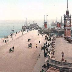 Douglas Pier, Isle of Man, England 1890
