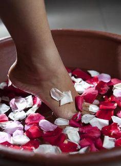 spa treatment ~ at home...