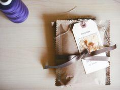 Sewing brown bags