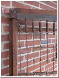 antique cot spring