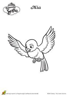 Dibujo para colorear de la Princesa Sofía (nº 8)