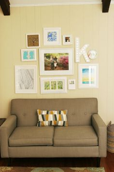 homemade ginger: New Sofas and Other Decor Updates