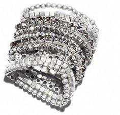 stacked bracelets, choo bracelet, bracelet 5499