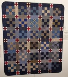 Nine Patch Quilt - Sally Rogers