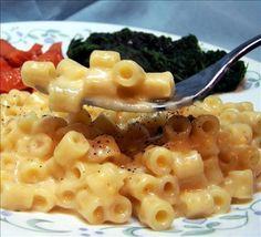 Easy Stove Top Macaroni and Cheese from Food.com: An easy way to do macaroni and cheese when there is little time until dinner. No baking required.