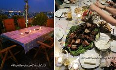 Celebrating Food Revolution Day with a Traditional Greek Barbecue
