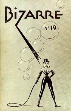 Bizarre Magazine #19 cover by John Willie.