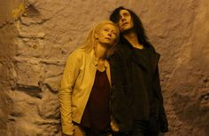 Tilda Swinton and Tom Hiddleston in 'Only Lovers Left Alive' - I look forward to Vampire Tilda. Stand aside and learn, K-Stew.