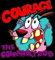 courage the cowardly dog on Pinterest Dogs Dog Cartoons