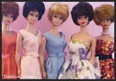 Bubblecut Barbies by RomitaGirl67 via flickr.