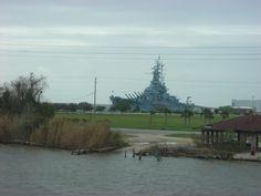 Battleship National Park, Mobile Alabama