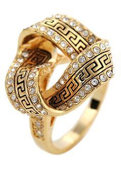 Luxury ring @}-,-;--