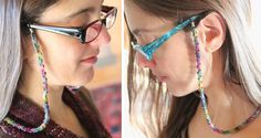another great xmas gift Eye-Glass Cord tutorial