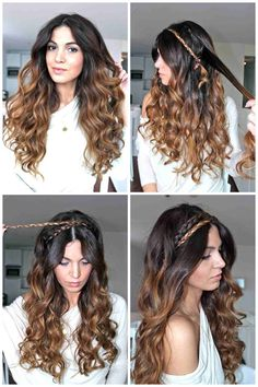 @Laura Olson I could see this for adriana DIY Greek Goddess Hair Tutorial