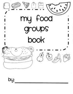 Food groups book