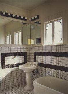 Art Deco Style Bathroom Light Fixtures