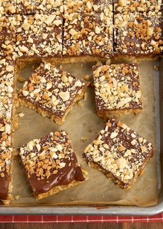 Peanut Butter, Chocolate, and Oat Cereal Bars | Bake or Break