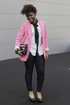 black + white + pink (via blackandkillingit.com)