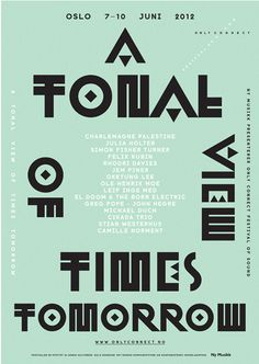 Poster by London-based studio Non-Format