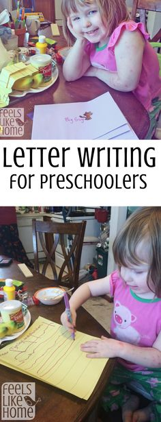 Letter writing activ
