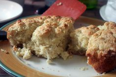 Recipe for Lynn's Paradise Cafe biscuits. They're slap-your-momma good. :)