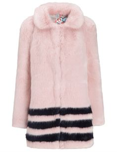 Shrimps Pink Faux Fu
