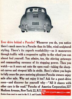 1961 Porsche Advertising Car and Driver April 1961