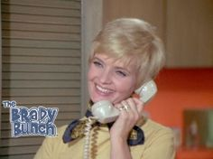 I don't know why I'm obsessed with Carol Brady on the phone.