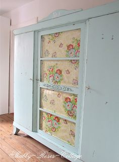 I need a big armoire like this to store fabric in.