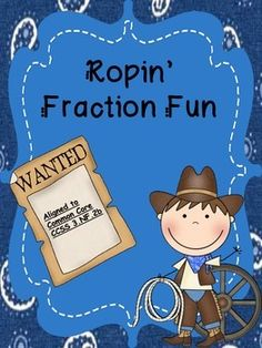 Ropin' Fraction Fun Freebie!