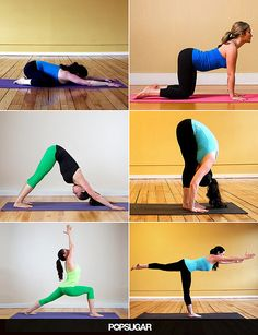 Take Five Minutes For Morning Yoga. Love this easy sequence!
